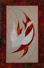 Pentecost worship arts | Jan Thompson quilted banner | Worship ... & Pentecost worship arts | Jan Thompson quilted banner Adamdwight.com
