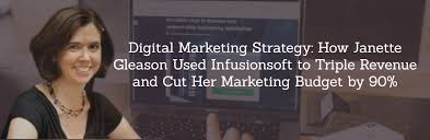 Digital Marketing Strategy: How Janette Gleason Used Infusionsoft ...