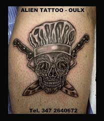 Quando Un Cuoco Fantasioso Vuol Celebrare Alien Tattoo Oulx