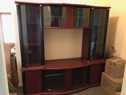 tv unit glass doors
