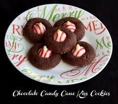 these peppermint kiss cookies are easy to make and the chocolate and peppermint bination is a