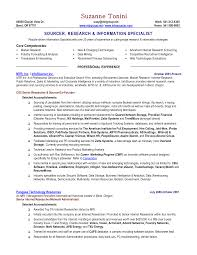 Film Resume Examples
