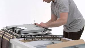 Electrolux Table Induction Installation Sur Plan De Travail Youtube