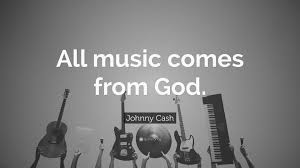 Johnny Cash Quote All Music Comes From God 12 Wallpapers