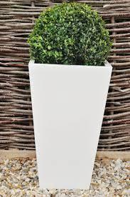 contemporary square flower pot  gartenideen  pinterest  gardens