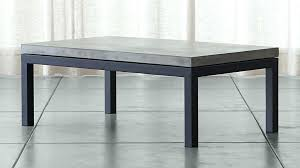 parsons concrete top dark steel base small rectangular coffee table reviews crate and barrel apartment ideas coffee table