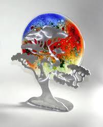 Glass Art Display Stands