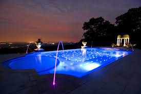 swimming pool lighting design. Unique Lighting Outstanding Also Led Swimming Pool Lights Light Lighting Design Trends  Images Ideas Pictures Throughout U