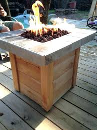 diy gas fire pit fire pit table propane fire table lovely build your own propane fire