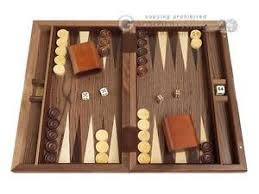 Classic Wooden Board Games 100 Wood Backgammon Set Diamond Inlay Classic Wooden Board 44