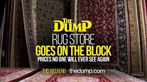 market crash oriental rugs at the dump
