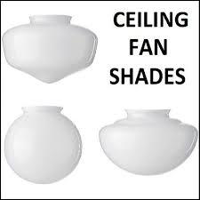 ceiling fan shades argos b q