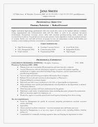 Pharmacy Curriculum Vitae Hospital Pharmacist Resume Luxury Hospital Pharmacist Resume 12