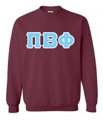 fraternity sorority crewneck sweatshirt