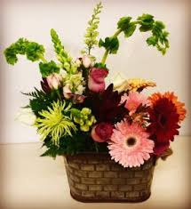 country delight mixed garden flowers in plainview tx kan del s fl candles gifts