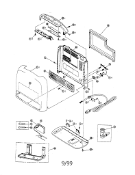 rinnai america vent space heater parts model rce229a find part by diagram >