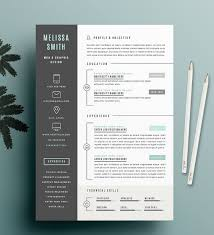 Resume Template 2017 Beauteous 40 Professional Resume Templates In Word Format XDesigns