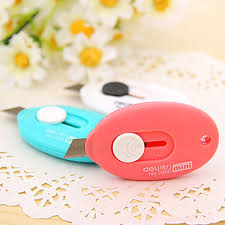 Paper Flower Cutting Tools Mini Pocket Utility Knife Blade Paper Cutting Tools Stationery