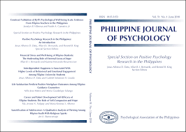 Philippine Journal Of Psychology Pjp Psychological Association