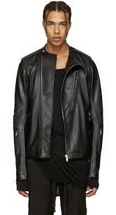 rick owens black leather cyclop biker jacket men rick owens sneakers repair enjoy great