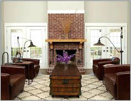 red brick fireplace painting red brick fireplace red brick fireplace white mantle