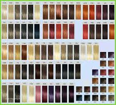 Ion Brilliance Hair Color Chart Cute Ion Color Brilliance