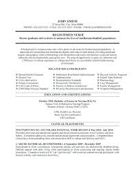 Resumes For Nurses Template Amazing Nursing Template Nurse Resume Examples Sample Registered Resumes