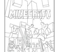 Minecraft Coloring Pages For Kids Vs Coloring Pages Printable And