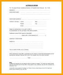 Letter Of Intent Real Estate Inspiration Standard Offer Letter Real Estate Inviletterco