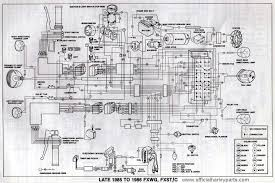 harley davidson wiring diagrams and schematics 1985 86 fxwg fxst