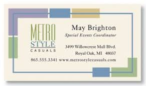 company message on business card. Perfect Card Metro Style Business Cards By PaperDirect In Company Message On Card T