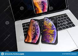 Apple IPhone Xs Max Gold Silver ...
