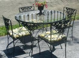 patio furniture dining sets image of vintage wrought iron patio furniture dining set
