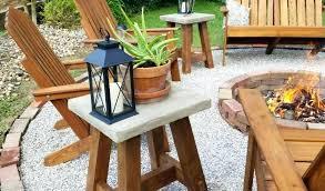 deck rail tables by deck railing table diy