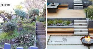 overgrown garden was transformed into