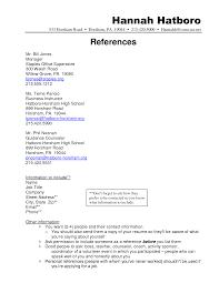 Listing References On Resume Sidemcicek Com
