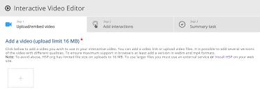 Interactive Video Tutorial   H5P