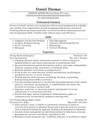 Ccht Resume Sample