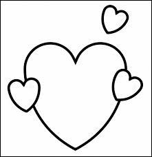 Microsoft Word Hearts 25 Heart Template Printable Heart Templates Free