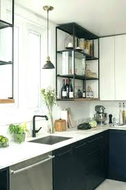 kitchen rack contemporary shelves inspiring kitchens you wont believe are ikea white wine wall storage wal