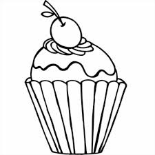 Small Picture Cupcake Cupcake Colouring Sheet Coloring Pages Getcoloringpagescom