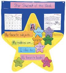Star Student Pocket Chart Cascade School Supplies