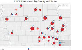 Town Charts Colin Gordon Ilhop Interviews By County And Town Charts