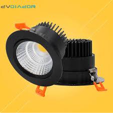 recessed led downlight 5w 9w 12w led lighting fixtures dvolador cob led indoor spot light ac90v 265v with led drive in downlights from lights lighting