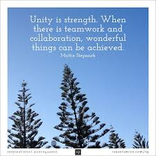 Unity Quotes Unique 48 Best Quotes About Unity Unity Quotes QuotesOnImages