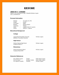 Reference Samples For Resume Reference List For Resume Cover Letter 16