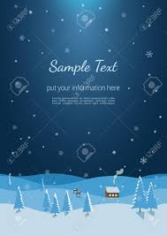 Winter Flyer Template New Year Winter Season Holidays Poster Flyer Template Size A24 21