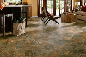 engineered stone with a travertine look for the living room