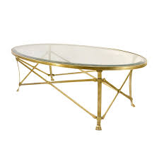 top glass and brass coffee table on glass top coffee tables oval glass top natural brass
