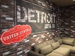 detroit furniture stores. Modren Furniture The Detroit Sofa Company Exclusively At Art Van Furniture Stores Inspired  By Detroit Made In The USA Handcrafted Superior Quality With Custom Order  Inside Stores